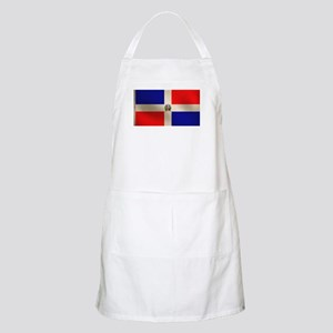 Dominican Flag BBQ Apron