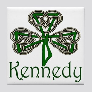 Kennedy Shamrock Tile Coaster