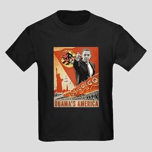 communist obama Kids Dark T-Shirt