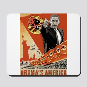 communist obama Mousepad