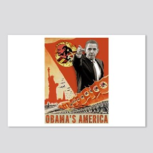 communist obama Postcards (Package of 8)