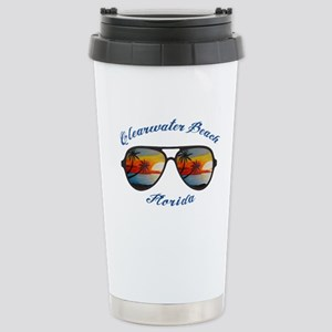 Florida - Clearwater Be Stainless Steel Travel Mug