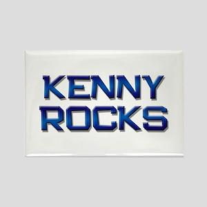 kenny rocks Rectangle Magnet