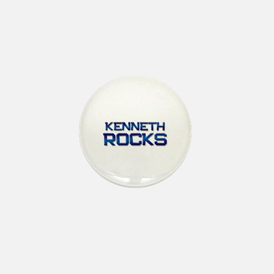 kenneth rocks Mini Button