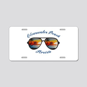 Florida - Clearwater Beach Aluminum License Plate