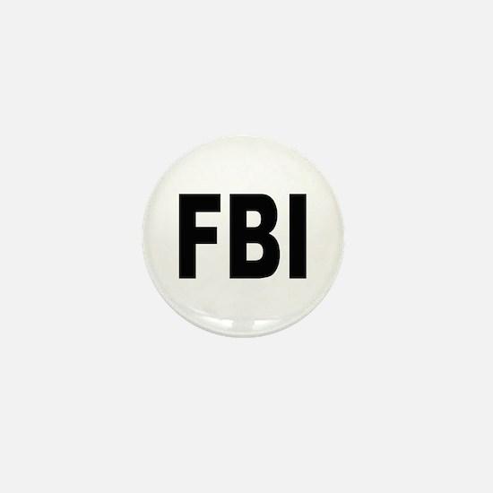 FBI Federal Bureau of Investigation Mini Button