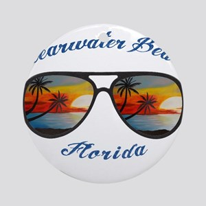 Florida - Clearwater Beach Round Ornament