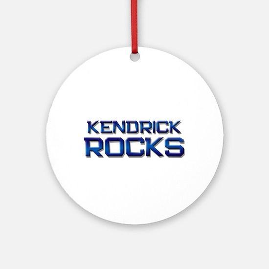 kendrick rocks Ornament (Round)
