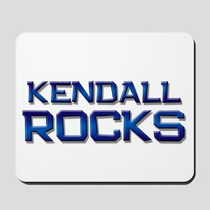 kendall rocks Mousepad