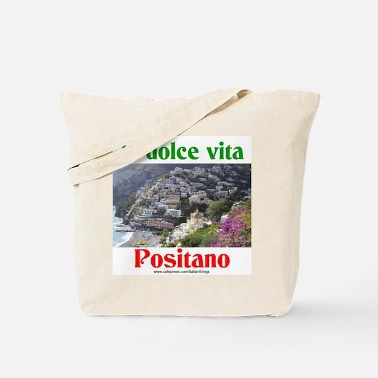 la dolce vita Positano Tote Bag
