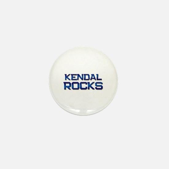 kendal rocks Mini Button