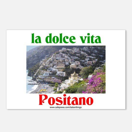 la dolce vita Positano Postcards (Package of 8)
