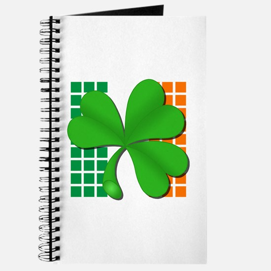 irish flag clover Journal