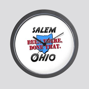 salem ohio - been there, done that Wall Clock