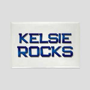 kelsie rocks Rectangle Magnet