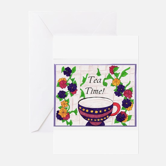 Tea Time! Greeting Cards (Pk of 10)