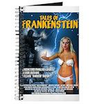 TALES OF FRANKENSTEIN Flyer Front Art Journal