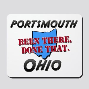 portsmouth ohio - been there, done that Mousepad