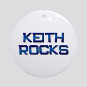 keith rocks Ornament (Round)