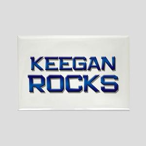 keegan rocks Rectangle Magnet
