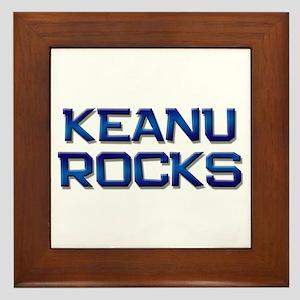 keanu rocks Framed Tile