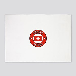 Geneve Suisse 5'x7'Area Rug