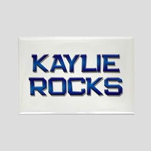 kaylie rocks Rectangle Magnet