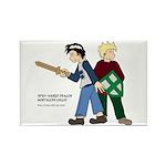 Vincent/Roland Rectangle Magnet (10 pack)
