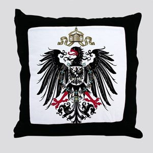 German Empire Throw Pillow