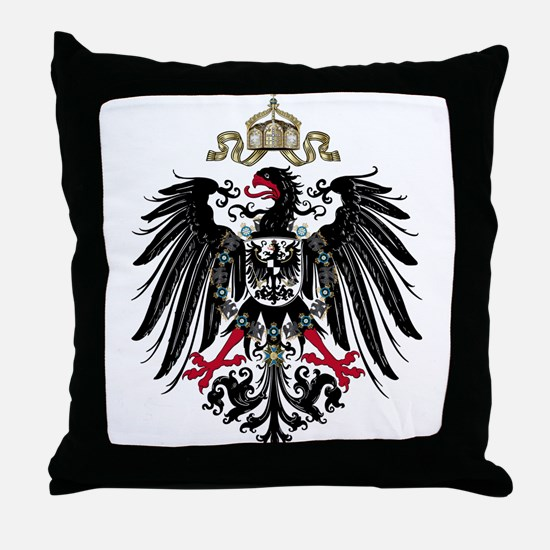 German Empire Throw Pillow