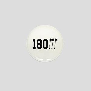 180 Darts!!! Mini Button