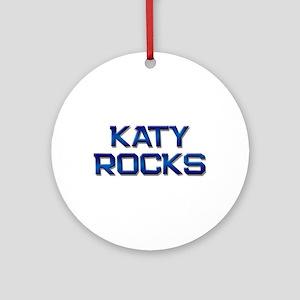 katy rocks Ornament (Round)
