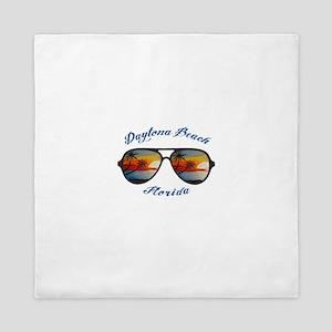 Florida - Daytona Beach Queen Duvet