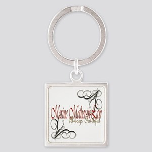 Mother-In-Law Square Keychain Keychains