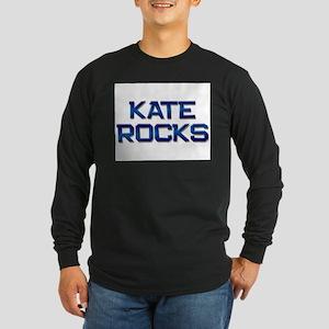 kate rocks Long Sleeve Dark T-Shirt