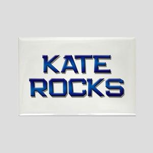 kate rocks Rectangle Magnet