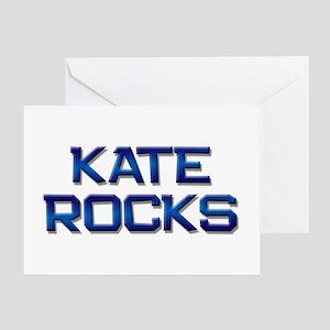 kate rocks Greeting Card