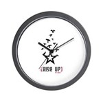 Rise Up - Wall Clock