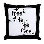 Free To Be Me - Pillow