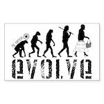 EVOLVE - Sticker (Rectangle 10 pk)