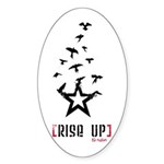Rise Up (Oval Sticker 10 pk)