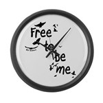 Free To Be Me - Wall Clock