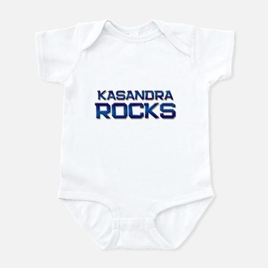 kasandra rocks Infant Bodysuit
