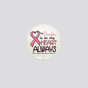 In My Heart 2 (Daughter) PINK Mini Button