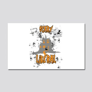 Scary Liberal Witch Funny Socia Car Magnet 20 x 12