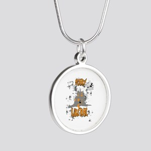 Scary Liberal Witch Funny Social Worker Necklaces