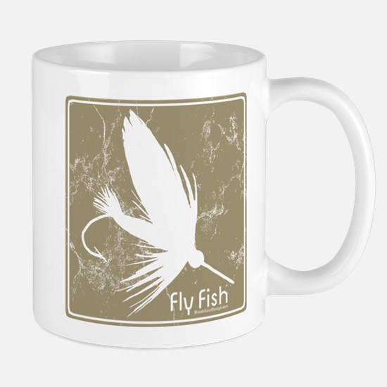 Fly Fishing Lure Mug