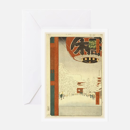 Kinryuzan Temple Asakusa Greeting Card
