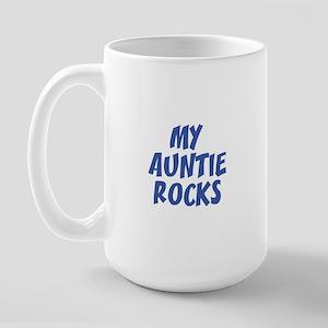 MY AUNTIE ROCKS Large Mug