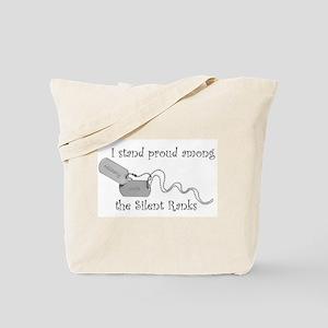 Silent Ranks Tote Bag